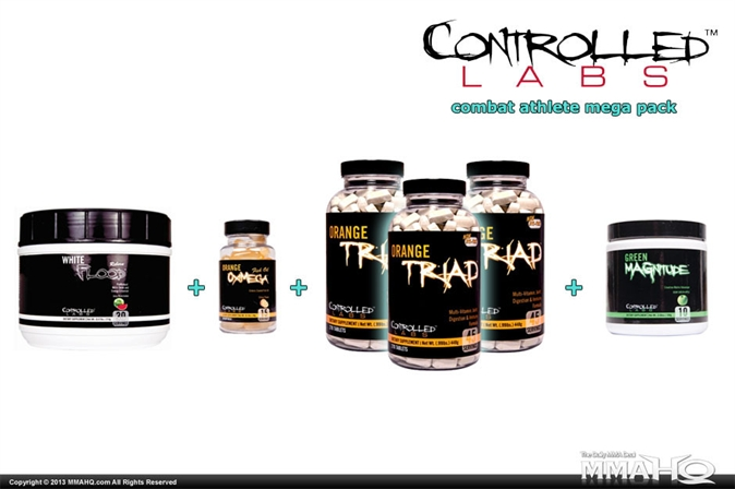 Controlled Labs Combat Athlete Mega Pack